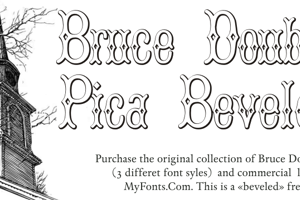 BruceDoublePica Beveled