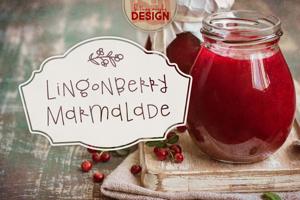 Lingonberry Marmalade
