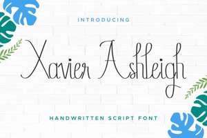 Xavier Ashleigh