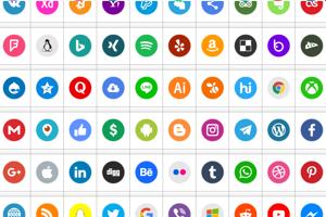 Icons Social Media 6