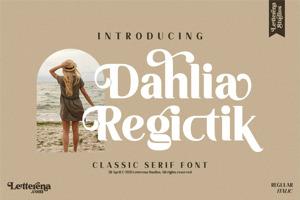 Dahlia Regictik