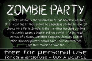 CF Zombie Party
