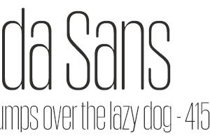 Obcecada Sans