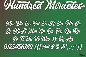 Hundred Miracles