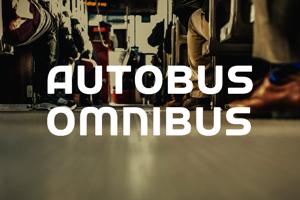 a Autobus Omnibus