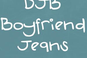 DJB Boyfriend Jeans