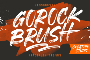Gorock Brush Swashes