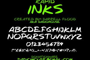 Rapid Inks