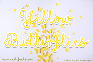 Mf Yellow Butterflies