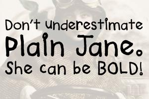 Plain Jane Bold