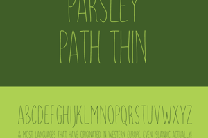 Parsley Path Thin