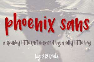 212 Phoenix Sans