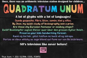 Quadratum Unum