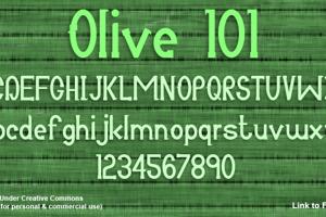 Olive 101