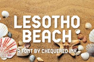 Lesotho Beach