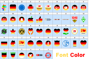 Font Color Germany