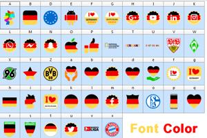Font Color Germany