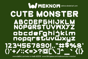 cute monster