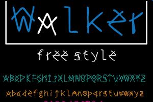 walker free style