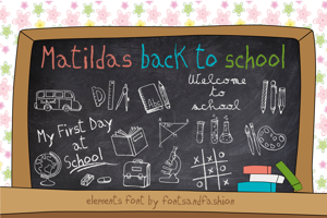 MATILDAS BACK TO SCHOOL