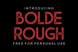 Bolde Rough