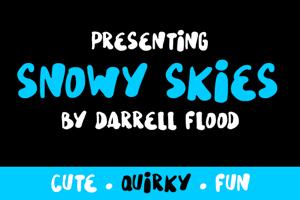 Snowy Skies