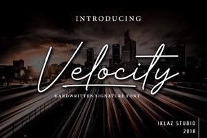 Velocity - DEMO