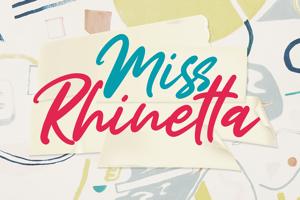 Miss Rhinetta