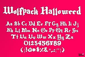 Wolfpack Halloweed