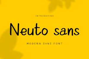 Neuto Sans