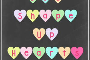 DJB Shape Up Hearts
