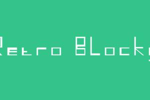 Retro Blocky