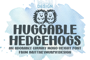 Huggable Hedgehogs