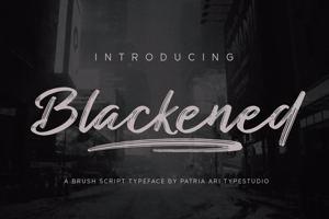 Blackened Script