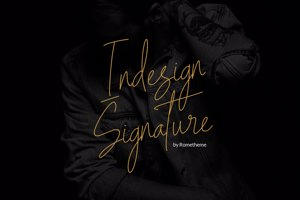 Indesign Signature