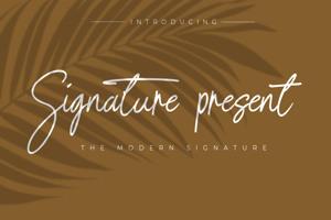 Signature present