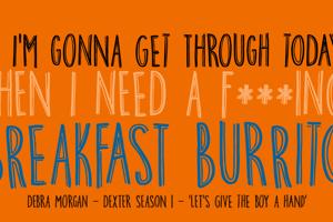DK Breakfast Burrito