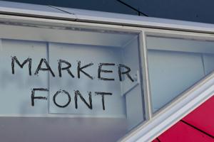 Marker Font