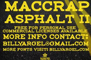 maccrap asphalt II