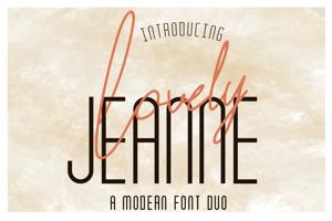 Lovely Jeanne Sans