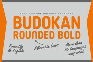 Budokan Rounded Bold