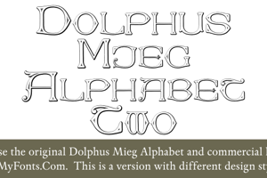 Dolphus-Mieg Alphabet Two