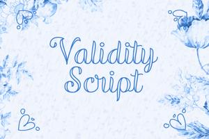Validity Script