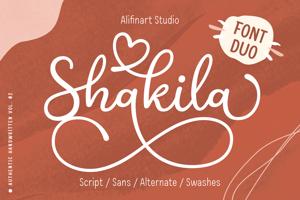 Shakila Script