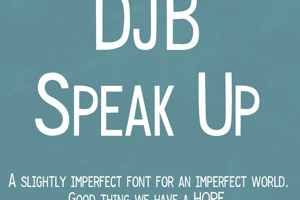 DJB Speak Up