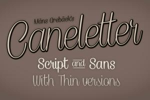 Caneletter Sans