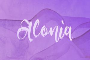 a Alonia