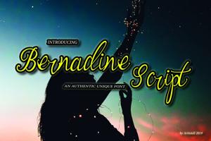 Bernadine Script