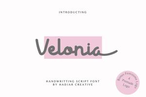 Velonia