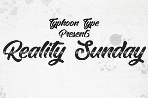 Reality Sunday